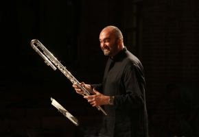 Massimo with bass flute